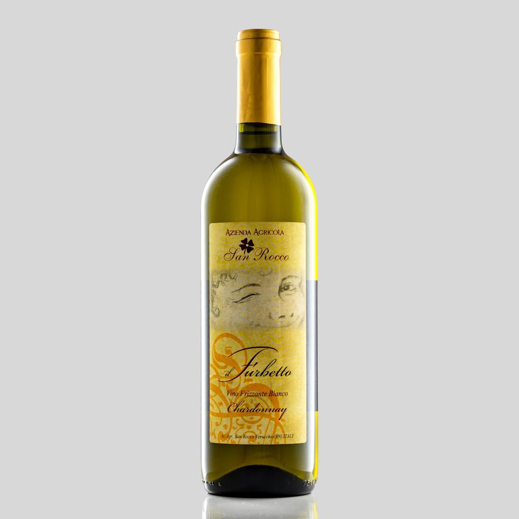 vino CHARDONNAY FRIZZANTE Agriturismo San Rocco