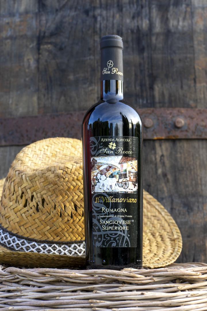 ROMAGNA SANGIOVESE SUPERIORE Agriturismo San Rocco vino