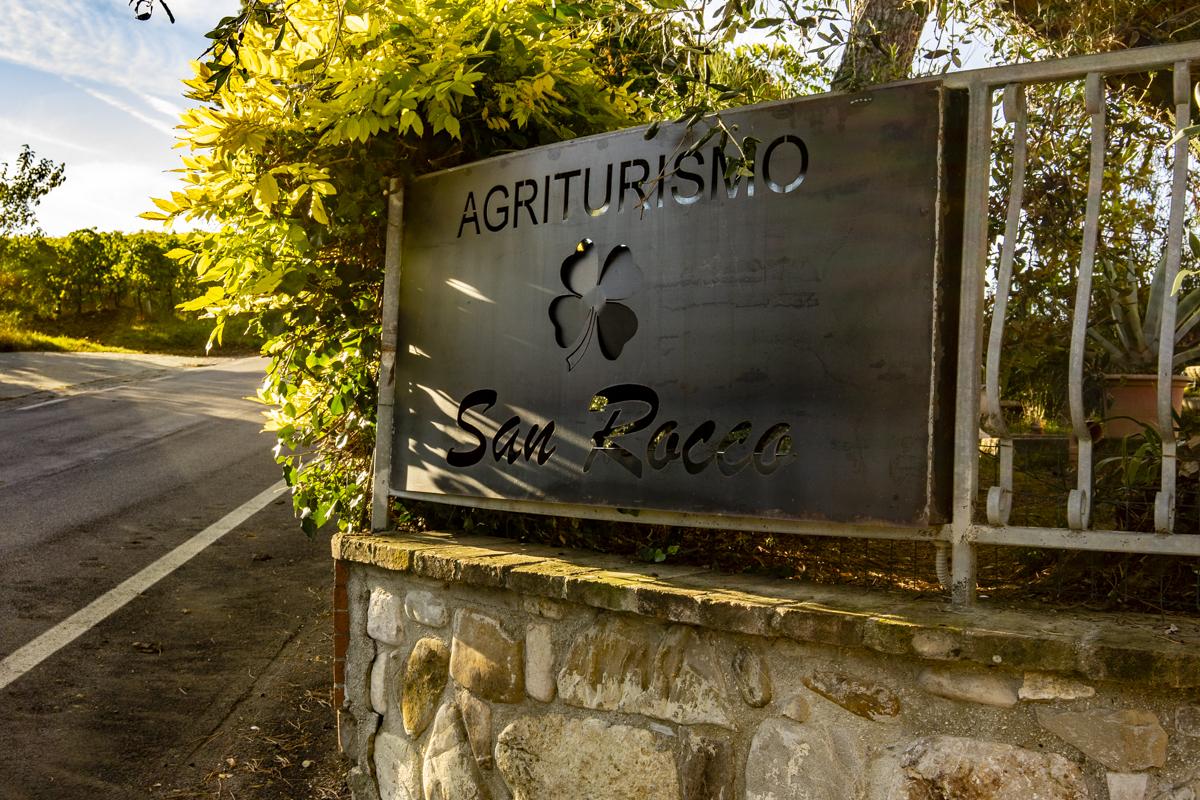 ingresso Agriturismo San Rocco